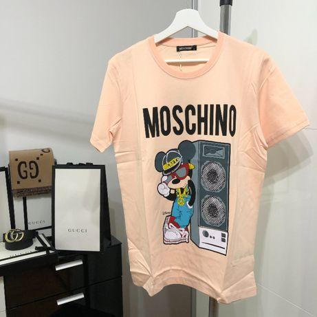 Tricou Moschino Barbati Roz Model 2021
