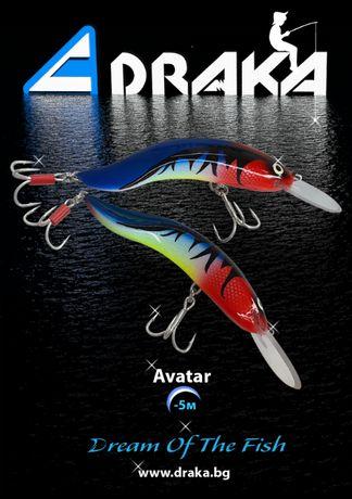 Воблери DRAKA - ръчно изработени