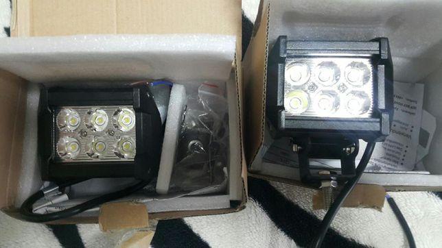 Светодиодные прожекторы на АВТО