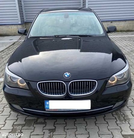 BMW 520D, an fabricatie 2009, culoare neagra, interior piele bej