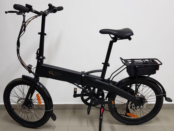 Алуминиев згаваем електрически велосипед