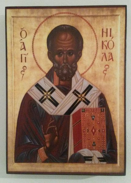 Икона на Свети Николай Чудотворец, ikona Sveti Nikolai гр. Пловдив - image 1