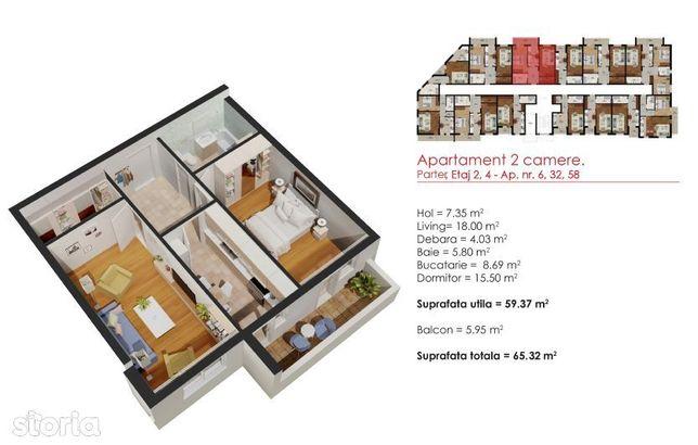 Noua Casa - Apartament 2 Camere - Metrou Berceni