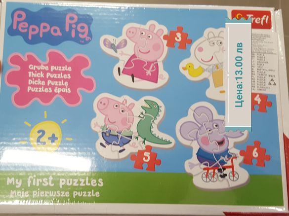 Пъзели за най-малките Пепа , Peppa Pig, Прасенцето Пепа