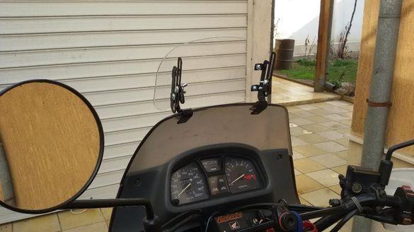 Слюда,дефлектор въздушен за мотор, мотоциклет-универсални, 2 модела