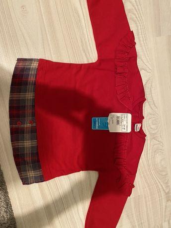 Bluza noua cu eticheta LC WAIKIKI 80-86 cm