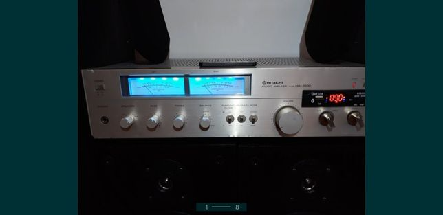 Amplificator Hitachi HA-3500 cu bluetooth si usb nu technics,sony,akai
