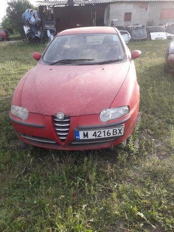 Dezmembrez Alfa Romeo 147.  1.6  16V Benzina 2001 motor perfect