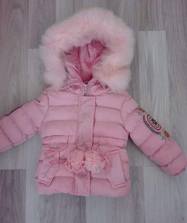 Geaca fetita roz marimea 80 86