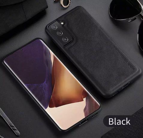 Samsung S21 S21 Plus S21 Ultra - Husa X LEVEL Silicon Imitatie Piele