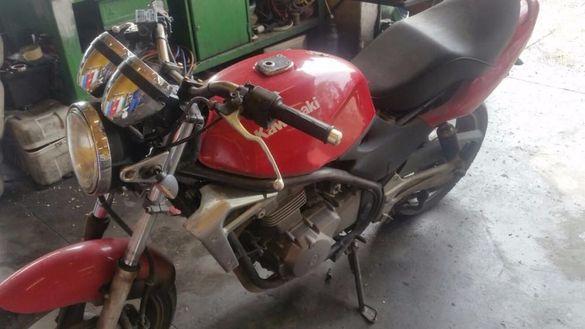 Мотоциклет Кавазаки ЕР-5(KawasakiER-5 )-На части