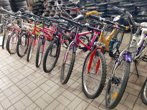 Велосипеды ПОДРОСТКОВЫЕ б/у из Германии