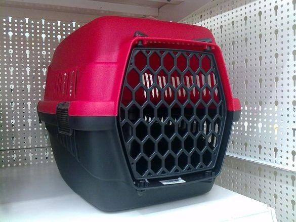 Преносима, транспортна клетка за животни, зайци, кучета, котки и др.