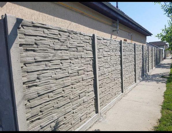 Gard din beton .