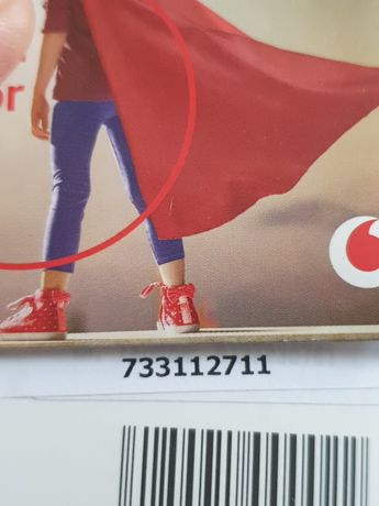 Numar usor Vodafone prepaid