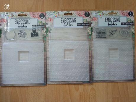 Ембросинг папка или комплект с прозрачни силиконови печати