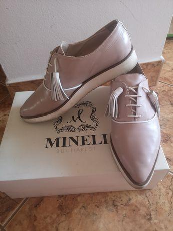 Vând pantofi Mineli piele Nude