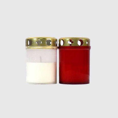 Candele plastic cu capac anti-vant V1-100 R/A