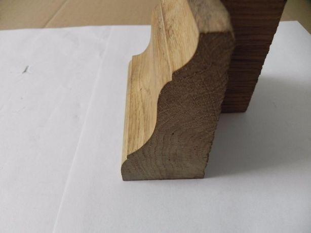 Freza profil lemn masiv plinta dulapuri usi rame mobila cod H80 H70