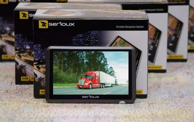 Gps SERIOUX 4.3 inch -program si harti auto si camion-vandut zadi.ro