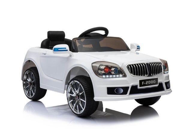 Masinuta electrica Kinderauto F-2000 15W STANDARD #Alb