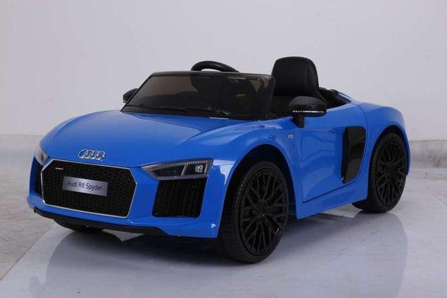 Masinuta electrica pentru copii Audi R8 albastru varianta MARE,factura