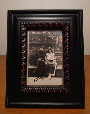Fotografie, Printul Carol si Principesa Elena - piesa Veche si Rara