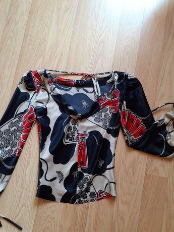 """Елегантна блуза с """"падащ"""" гръб, XS"""