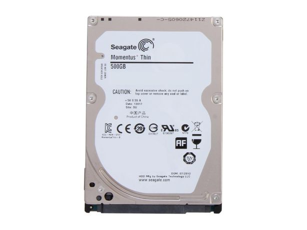 "Hard disc laptop Seagate 500GB 2,5"" fara defecte, 100% functionabil"