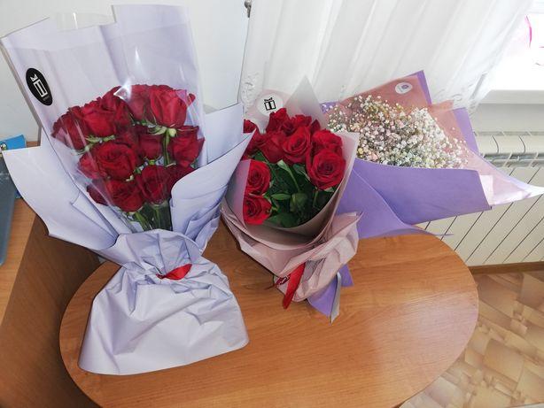 Готовые цветы,  букеты