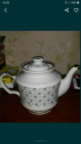 Чайник заварочный (Фарфор) большой,