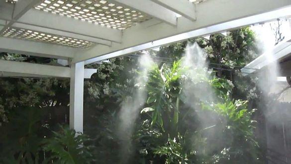 Система за охлаждане Водна мъгла 7,5м