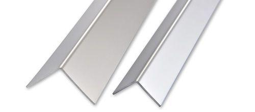 Coltar din inox lucios 1,5cm x1,5cm