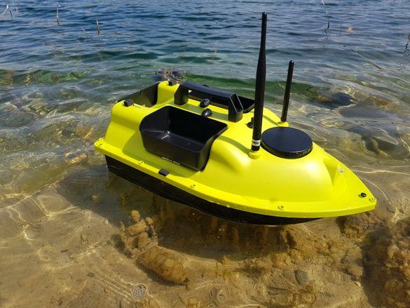 GPS Лодка за захранване разпъване захранка