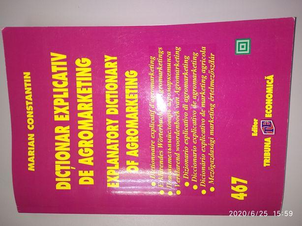 Vand Dictionar Explicativ de AgroMarketing, Autor: Marian Ctin