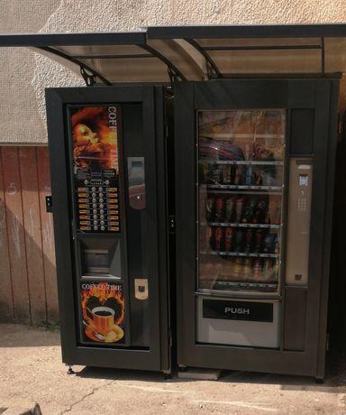 Поставяне на кафе автомати и вендинг автомати. Плащаме наем.