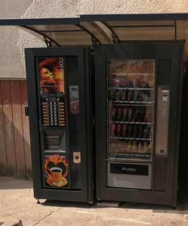 Наемане на места за поставяне на кафе автомати и вендинг автомати.