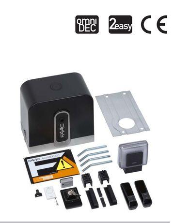 Automatizări porți culisante Faac CYCLO/RAPID KIT 24V motor poarta