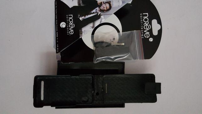 Husa piele telefon Motorola Droid Milestone Noreve Flip neagra