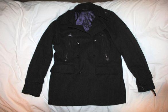 Мъжко вълнено палто