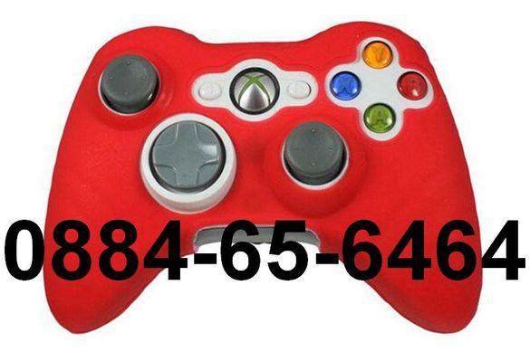 Xbox360 XBOX One + ТАПИ Силиконов Протектор ЗА Контролер Джойстик 360