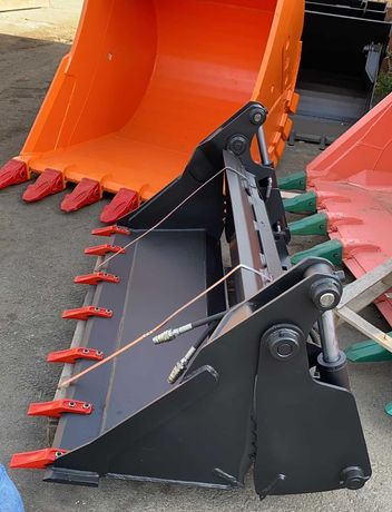 Cupa multifunctionala Bobcat mini incarcator integral Hardox
