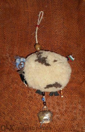 декоративна овца - естествени продукти