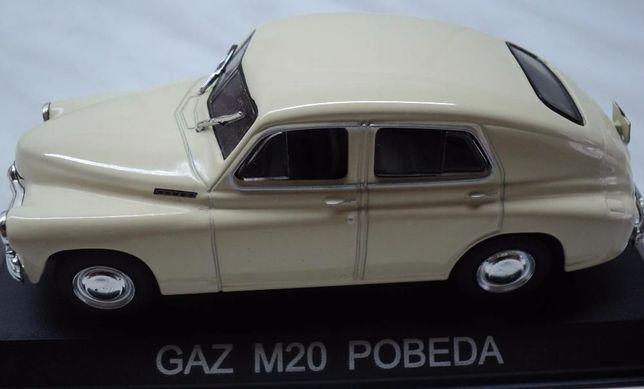 Macheta Auto Metalica (De Colectie) GAZ M20 POBEDA NOUA