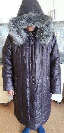 Продам куртку женскую зимняя 68/70