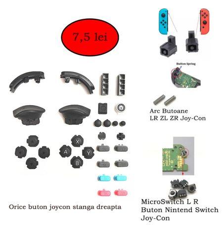Piese Nintendo Switch microswitch Arcuri L R ZR ZL JoyCon ciuperca