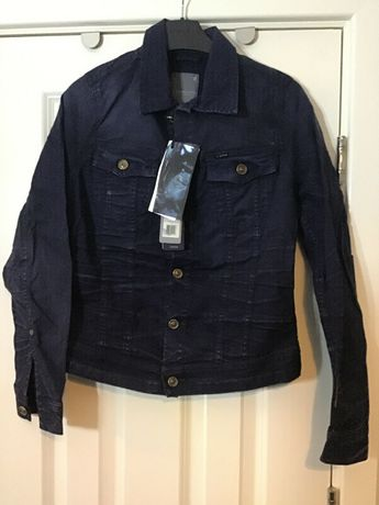 G-Star Raw New slim tailor jacket women color naval blue