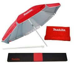 Set nou,prosop+umbrela soare,marca Makita,449lei