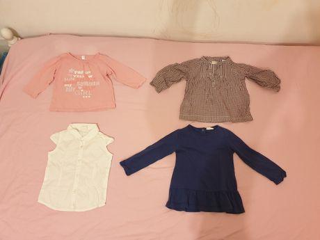 Bluze , tricou si rochita copii 1 - 2 ani - livrare gratuita curier