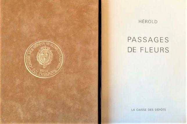 Pictura Tablou Jacques Herold Blumer Catalog Passages de Fleurs
